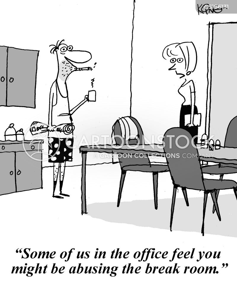 Break Room Cartoons and Comics - funny pictures from CartoonStock