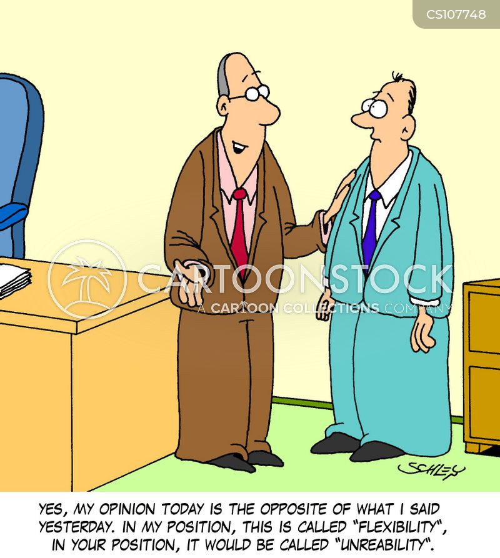 unreliability cartoon