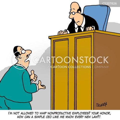 new law cartoon