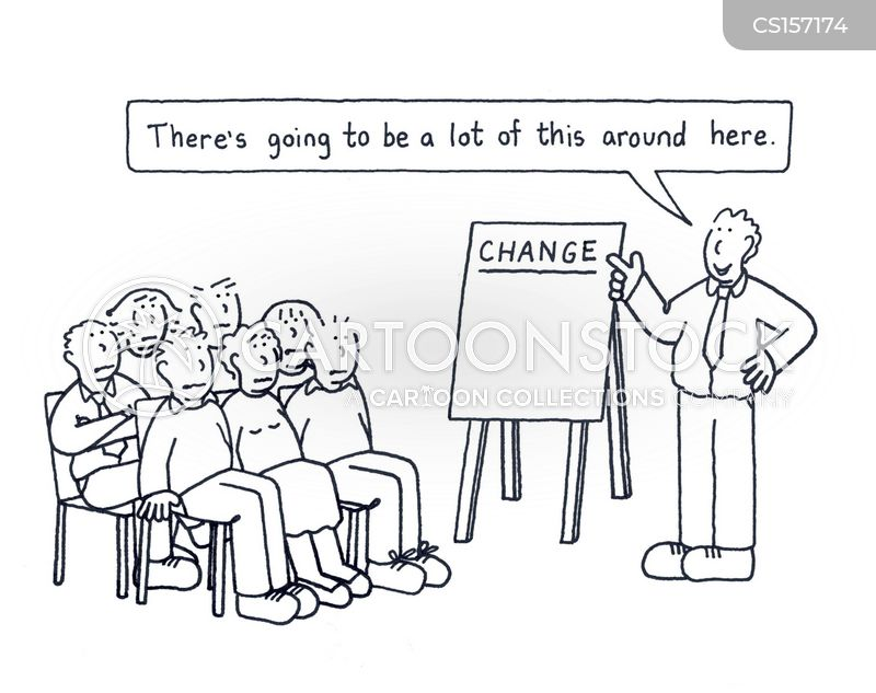You can't be what you can't see. We need to make change ...  Making Changes Funny