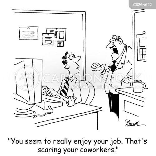 good jobs cartoon