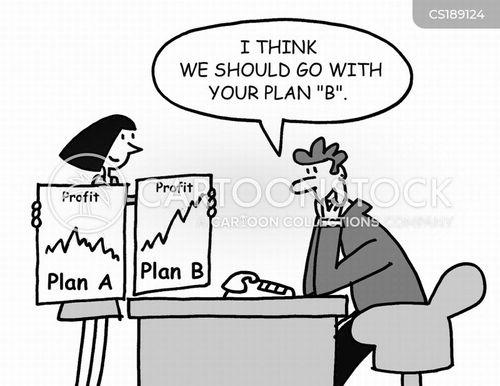 plan b cartoon