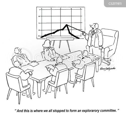 exploratory committee cartoon