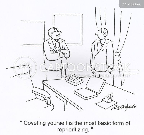 prioritised cartoon