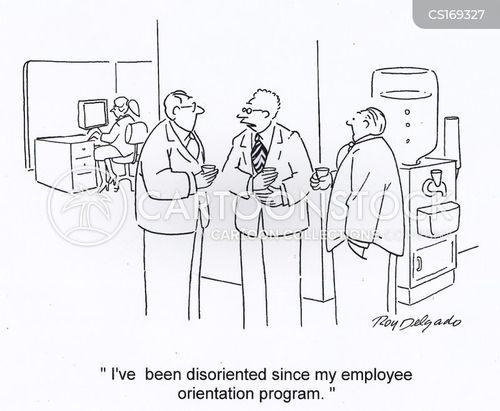 orientation cartoon
