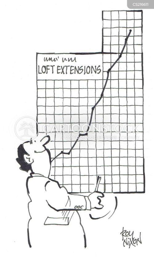 sales profit cartoon