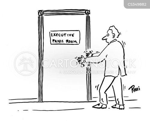 panic rooms cartoon