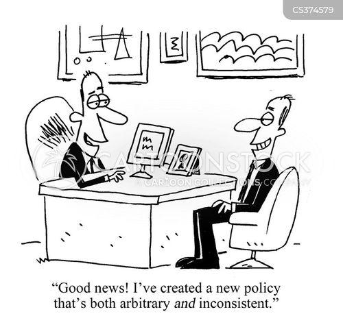 inconsistency cartoon