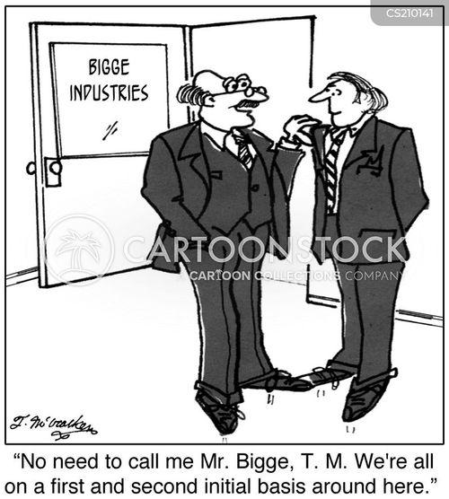first name basis cartoon