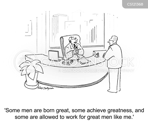 greatness cartoon