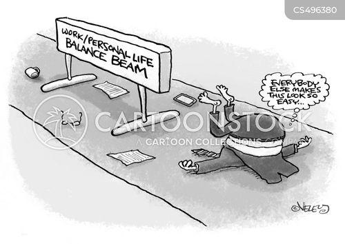 balance beams cartoon