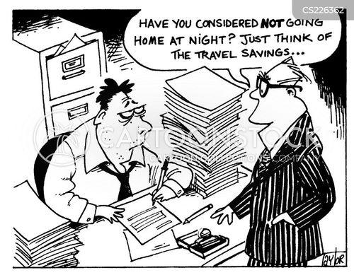 travel card cartoon