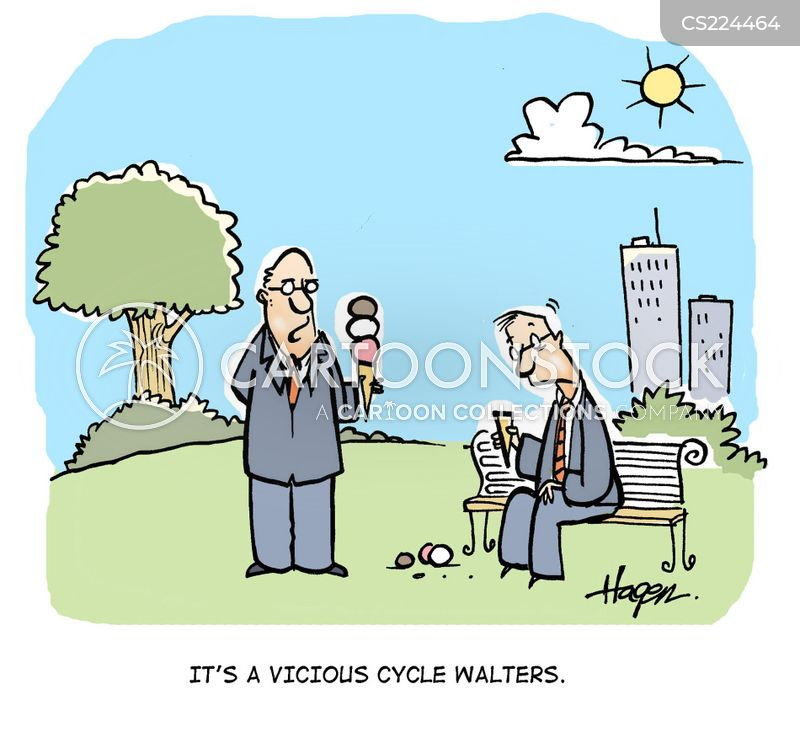 vicious cycles cartoon