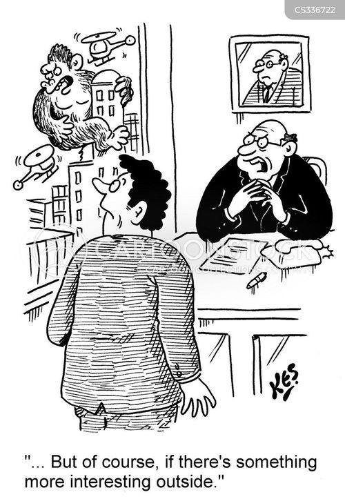 clerical cartoon