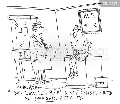 sell high cartoon