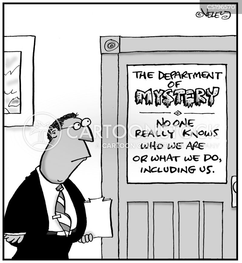 inter-departmental cartoon