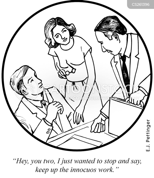 meaningless work cartoon
