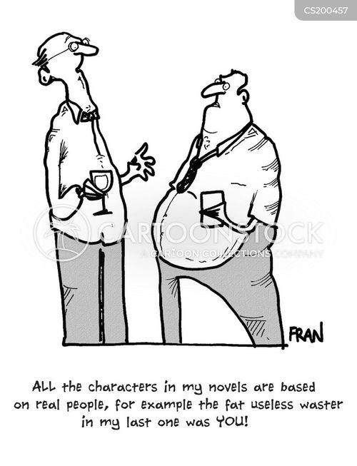 autobiographical cartoon