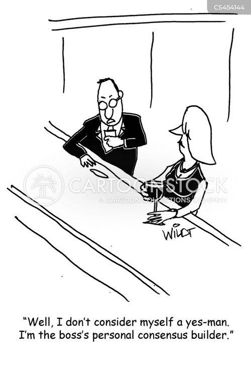 flunky cartoon
