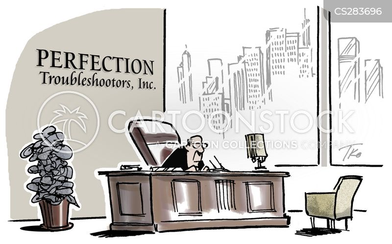 troubleshooters cartoon