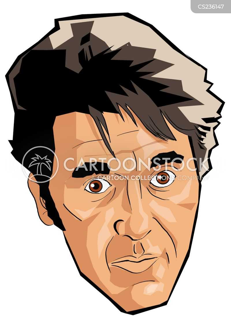 pacino cartoon