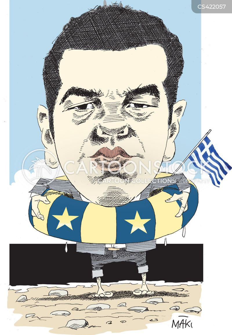 greece politics cartoon