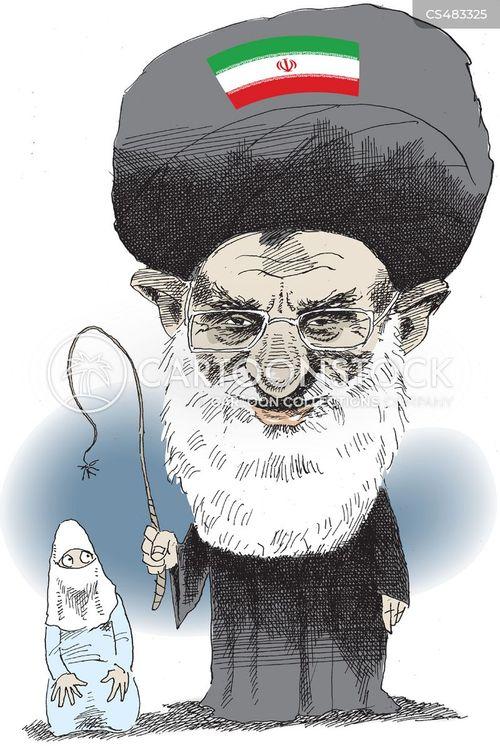 ayatollah ali khamenei cartoon