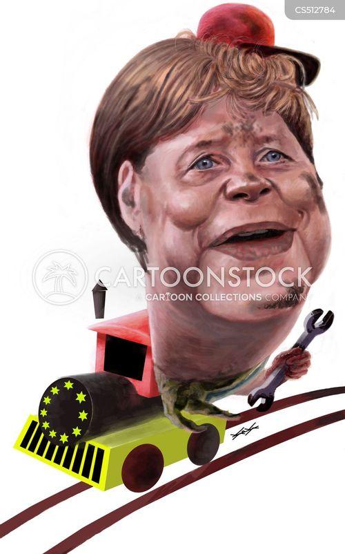 female leader cartoon