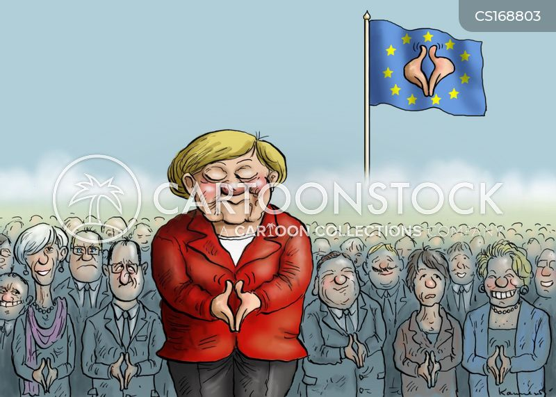 Image result for Chancellor Angela Merkel CARTOON