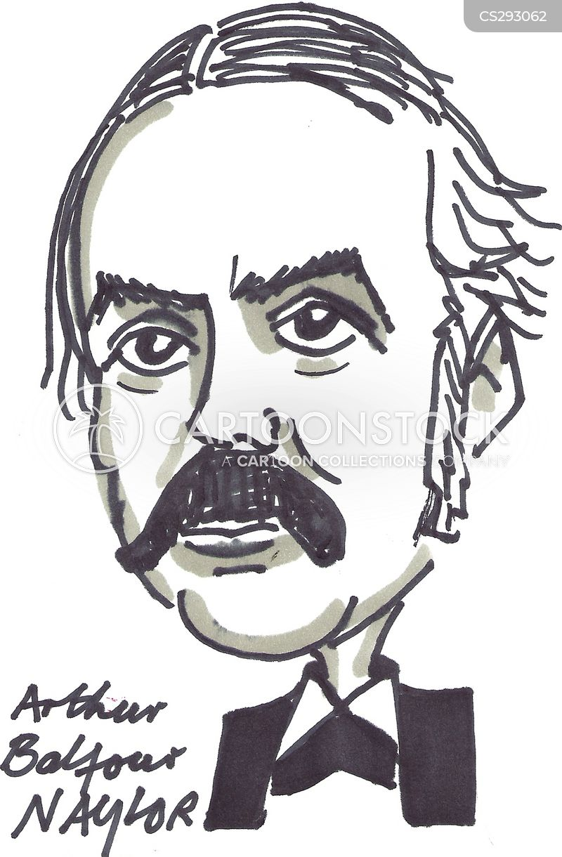 arthur balfour cartoon