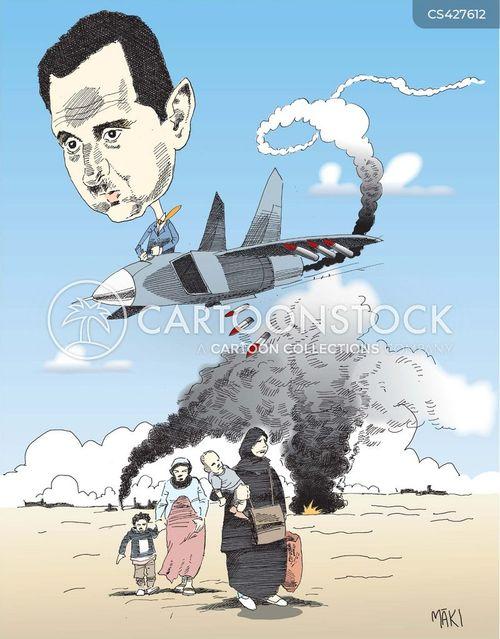 syria war cartoon