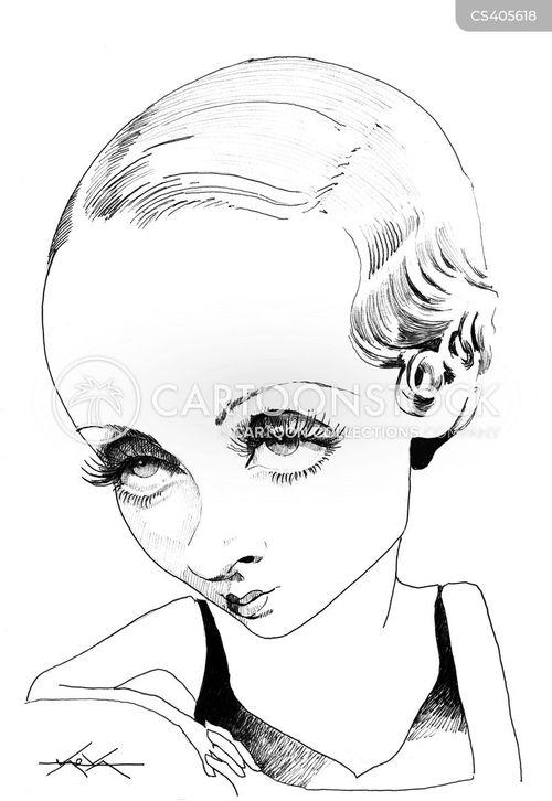 leading lady cartoon