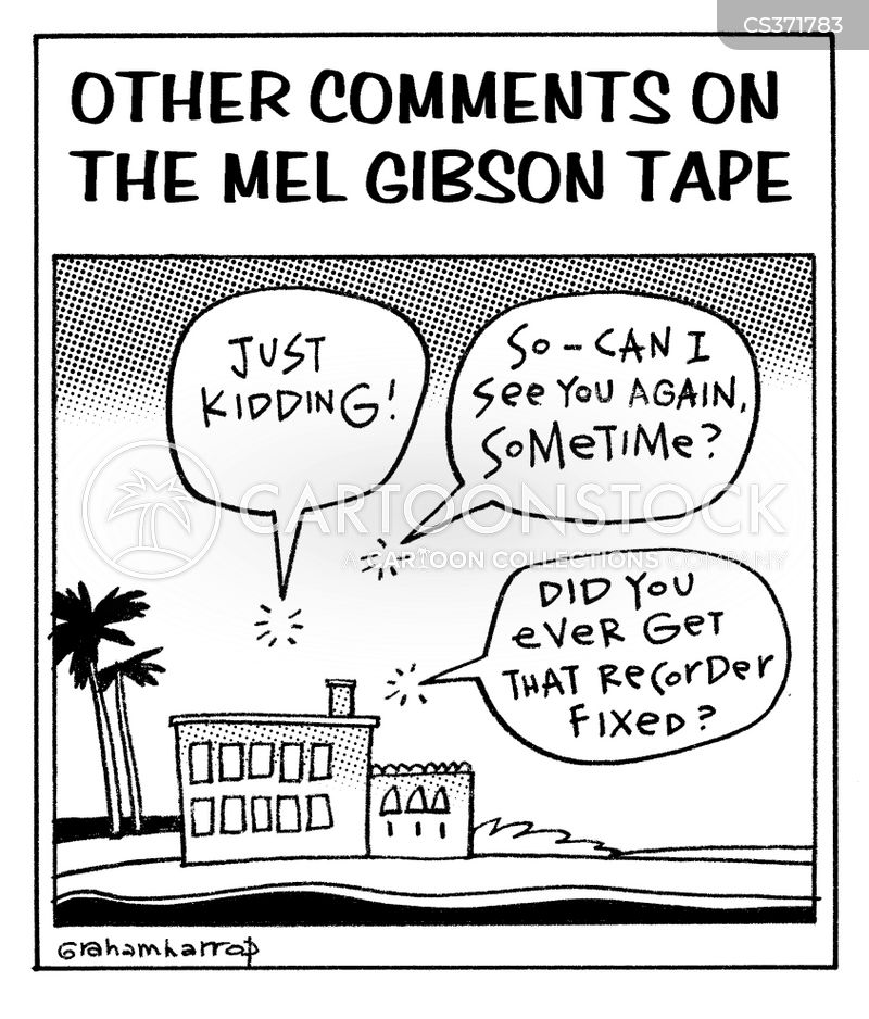 gibson cartoon