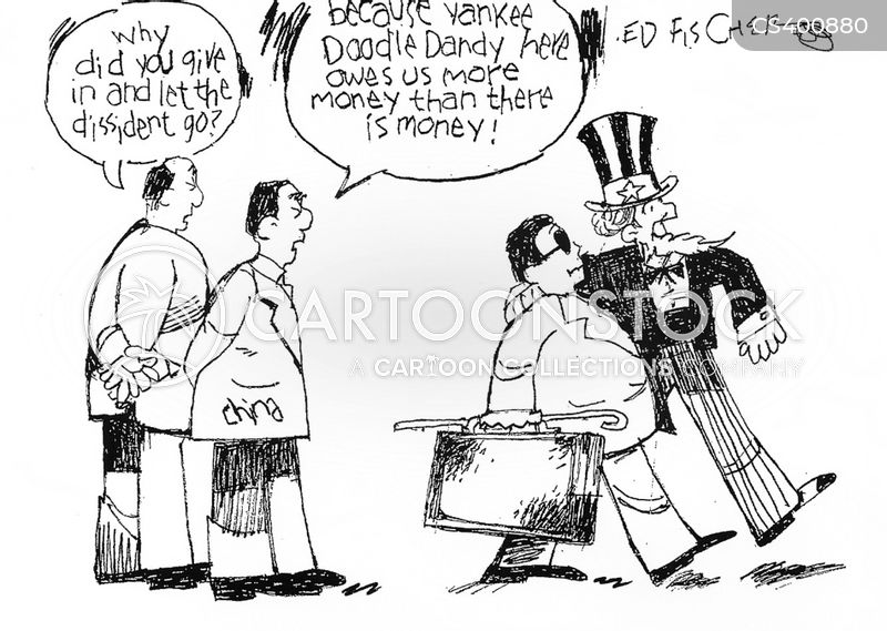 economic partnership cartoon