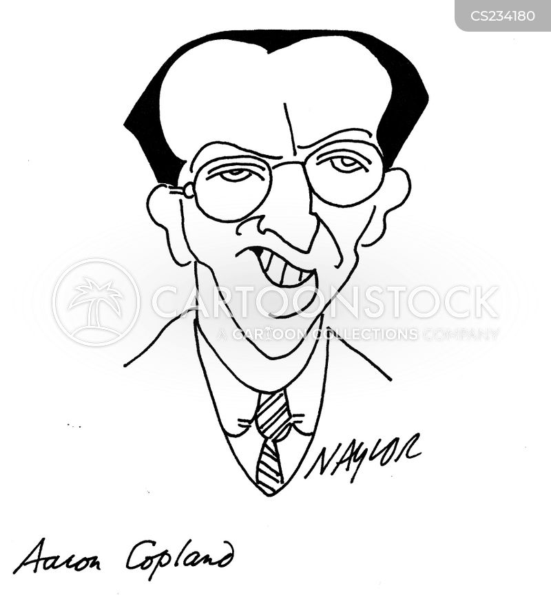 american composers cartoon
