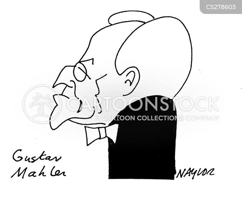 austrian composers cartoon