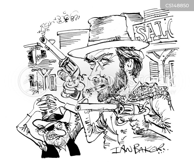clint eastwood cartoon