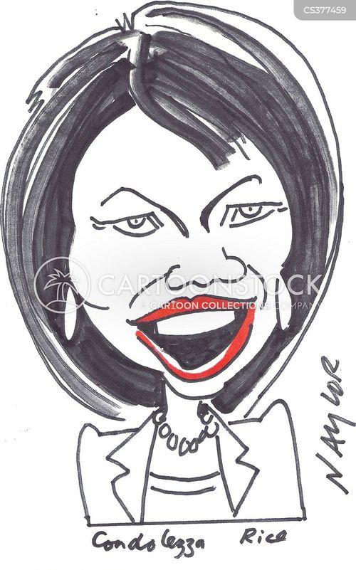 condoleezza rice cartoon