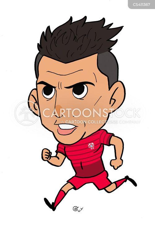 Caricatures Cristiano Ronaldo Footballers Football Players Soccer Players Cartoons Cben21 Low Jpg 400 582 Pixels Cristiano Ronaldo Ronaldo Cartoon