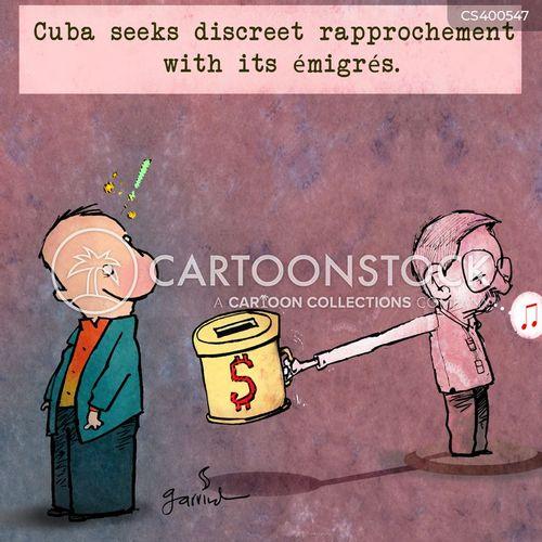 diplomatic missions cartoon