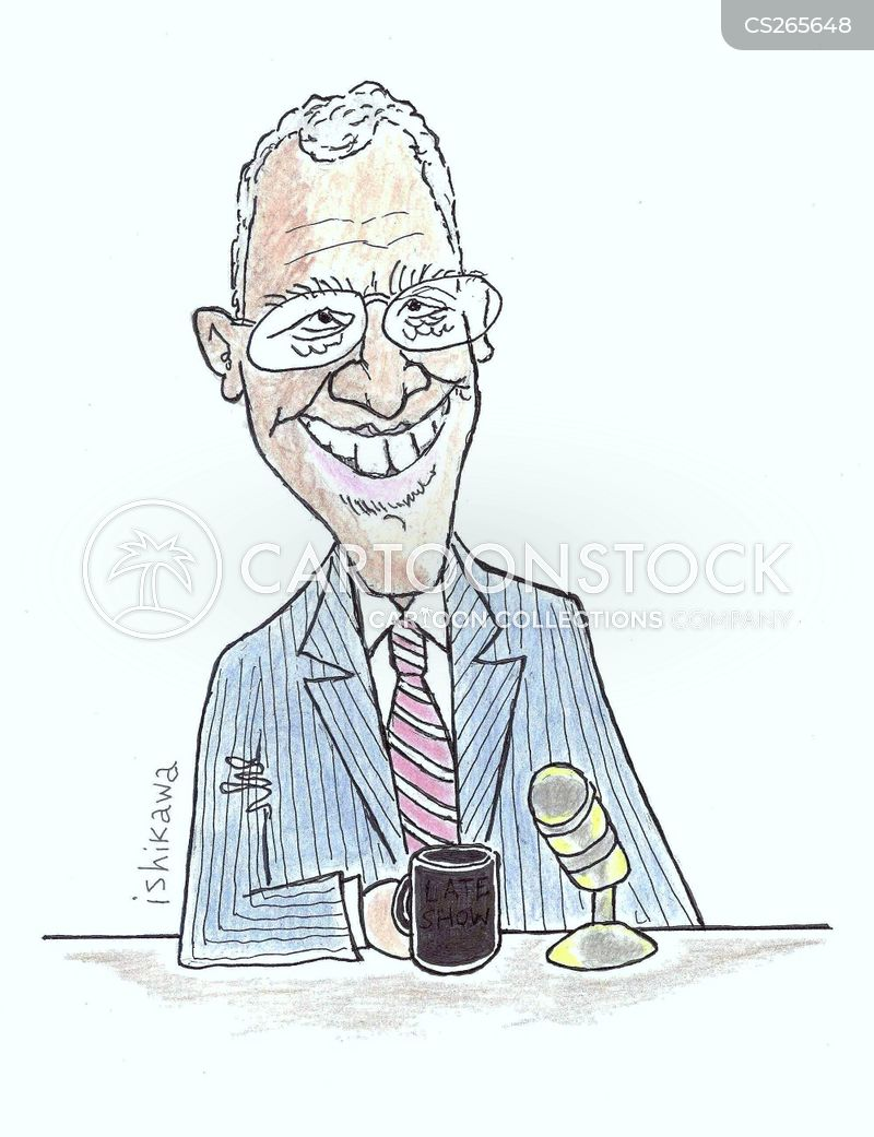 television personality cartoon