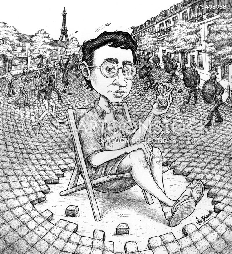 guy debord cartoon