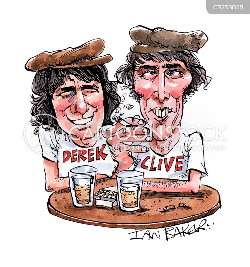 dudley moore cartoon