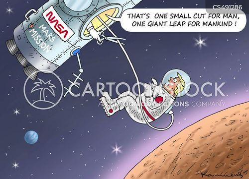 mars missions cartoon