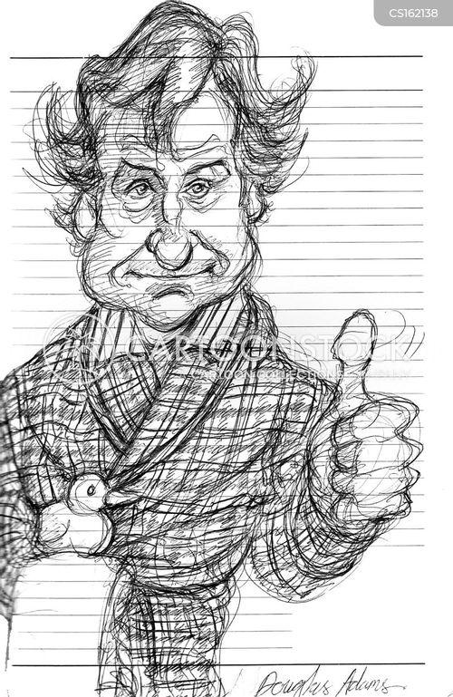 douglas adams cartoon