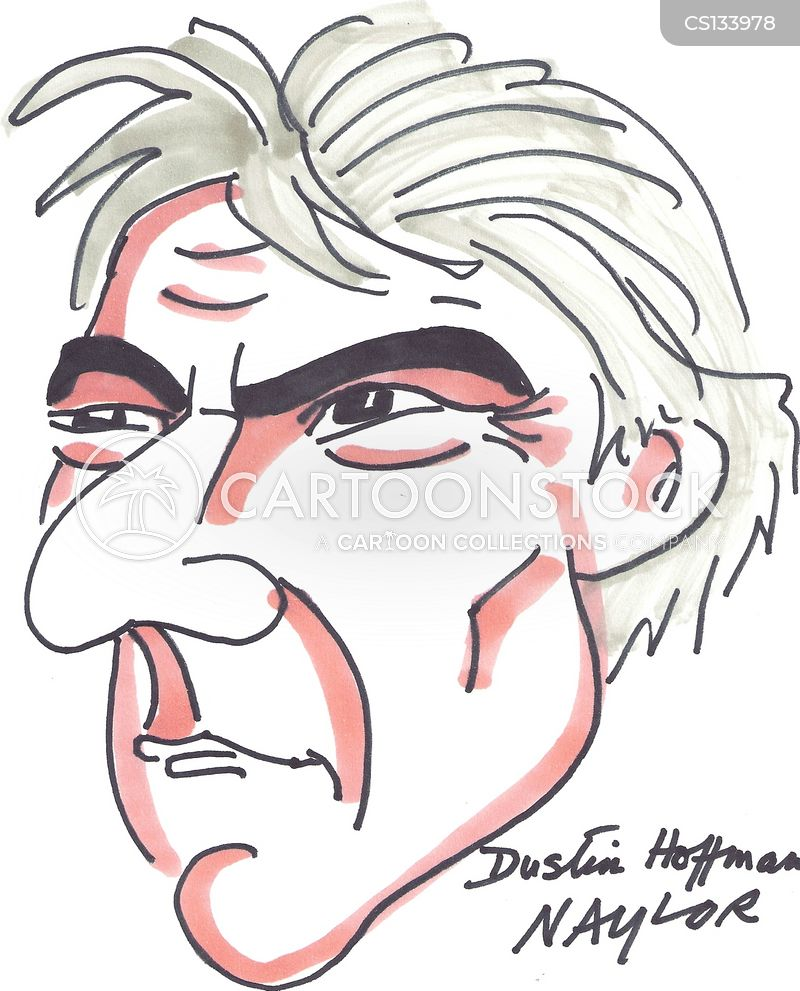 dustin hoffman cartoon