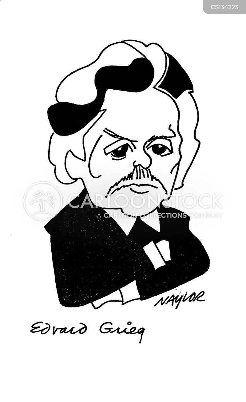 edvard grieg cartoon