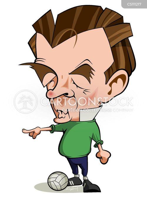 sports personalities cartoon