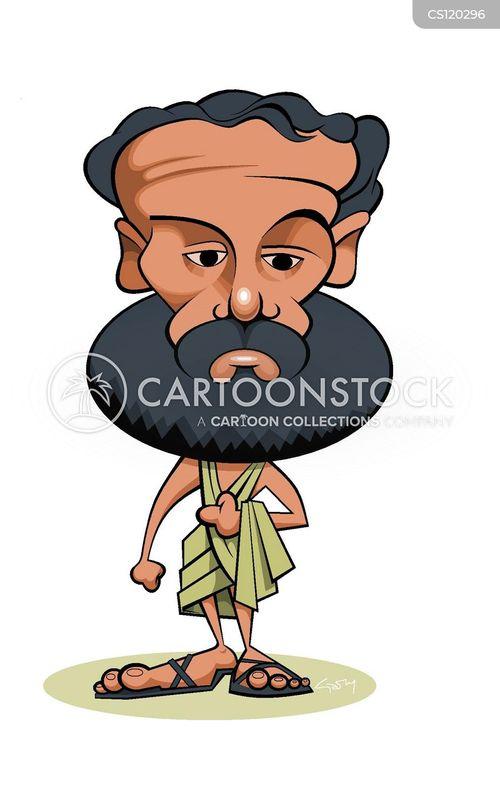 father of medicine cartoon
