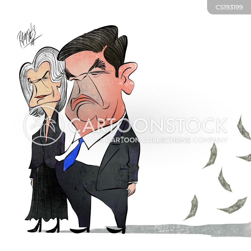 corrupt politicians cartoon